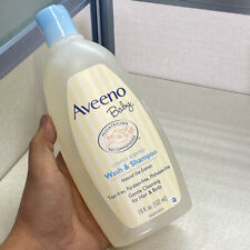 Brand New Aveeno Baby Wash and Shampoo - Hair & Body -Lightly Scented 18oz
