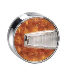 NARVA LED ROUND 80MM BULL BAR INDICATOR PARK LIGHT ROUND LANDCRUISER NEW 95004