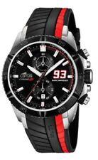 Relojes de pulsera Date de goma resistente al agua