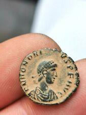 Honorius , nummus , Cyzique 395-401 ( VIRTVS EXERCIT SMKA) 2,30 g