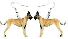 Great Dane Earrings Jewelry Fun Happy Love Earring Animal Dog Gentle Giant Puppy