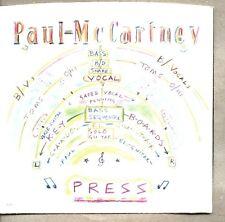 "VINYL 45 7"" & Picture Sleeve Paul McCartney - Press Capitol Records B-5597"