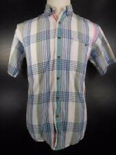 Cool Men's Medium Ralph Lauren Chaps Multi-Color Plaid SS Button-Down Shirt GUC