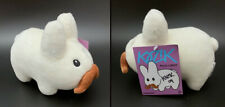 "Frank Kozik SIGNED Kidrobot 7"" Plush Stache Labbit AUTOGRAPHED RARE Brand New"