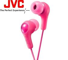 JVC HA-FX7 PINK Gumy Plus In-Ear Earbuds Headphones with Bass Boost HAFX7P /NEW