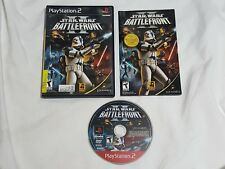 Star Wars Battlefront II Playstation 2 Game PS2 sw bf 2 US NTSC - Nice Disc