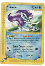 Suicune Rare Pokemon Card Wizards Movie VHS 4Ever Stamped Black Star Promo #53