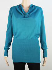 Full Circle womens Size 14 XL lightweight knit teal cardigan