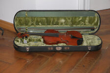 Vecchio violino di Carl neolatina ciabattino 1924 marchi Neukirchen (antico VIOLINO)