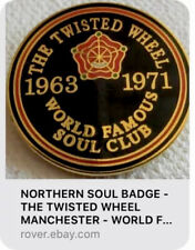 STATESIDE NORTHERN SOUL RECORD IN SLEEVE NORTHERN SOUL BADGE