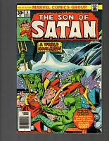Son of Satan #6 (Oct 1976, Marvel) FN/VF