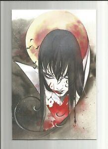 Vampirella Comic Book #16, Dynamite 2020, Peach Momoko Virgin Variant