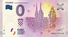 0 Euro Souvenir Croatia - Zagreb - HRAB - 0 euro - Croatia !!!