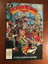 WONDER WOMAN # 30 VERY FINE GEORGE PEREZ DC COMICS 1989