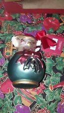 Vintage collectible Lenox Tea Party Cream pitcher Christmas ornament in box