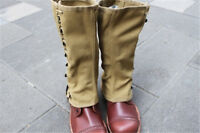 Hot Sale Military Wwii Us Army Canvas Leg Wrappings Leggings Gaiters Field Gear