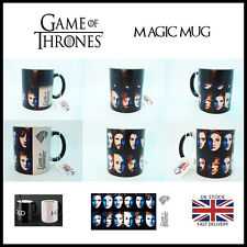 Game of Thrones Cast Color Changing Magic black heat sensitive Coffee Tea Mug