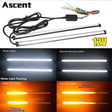 Switchback LED Strip Daytime Running Light DRL Sequential Flow Turn Signal Lamps
