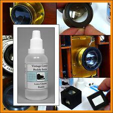 Vintage Camera Buddy lens cleaning fluid 35 ml for Kodak Ensign Rochester