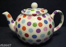 Heron Cross Pottery Polka Dot Chintz English 6-8 Cup Tea Pot (4-5 mugs)