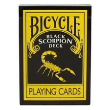 Black Scorpion Deck in Bicycle Card Stock - Black Scorpion Bicycle Playing Cards