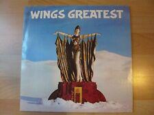 WINGS GREATEST  ALBUM 33T DISQUE VINYL