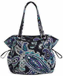 Vera Bradley Glenna Satchel (Garden Grove) Bags