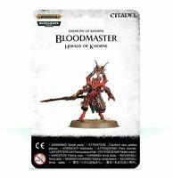 Bloodmaster Herald of Khorne Daemons Warhammer Age of Sigmar 40K NIB