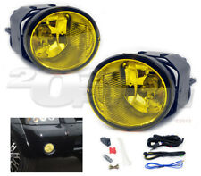 OE STYLE FOG LIGHTS PAIR YELLOW SWITCH WIRE FOR FRONTIER MAXIMA XTERRA SENTRA