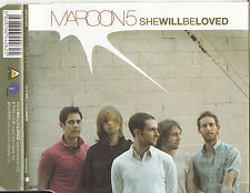 MAROON 5 She Will Be Loved CD Single