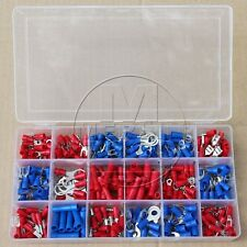 330Pcs AWG 22-14 Terminal Connector Electrical Automotive Wiring Wire Crimp Kit