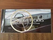 2010 Niue Island, 2 dollars Old Soviet Cars 4 Silver Coin Set Colorized Proof