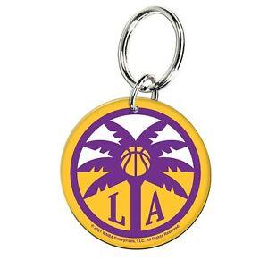 Los Angeles Sparks WinCraft Premium Acrylic Key Ring