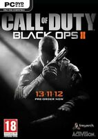 CALL OF DUTY BLACK OPS 2 PC VIDEO GAME NEW SEALED PAL - 1st Class Recorded