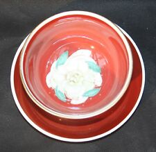 Susie Cooper Bone China Sugar Basin & Saucer Gardenia Pattern