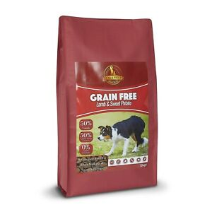 Dog & Field - Grain Free Adult Dog Food– Lamb & Sweet Potato 1kg & 12kg Bags