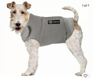 Ant-Anxiety Dog Calming Coat, sz XL, Gray, 70-100 lbs.