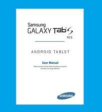 Samsung Galaxy Tab S 10.5 (model SM-T800) User Manual
