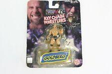 Vintage Toybiz WCW NWO Goldberg Key Chain Wrestlers - Sealed