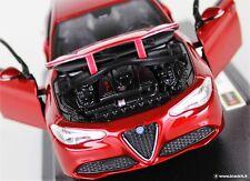 Alfa Giulia 1/24 Burago red