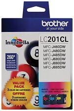 Brother Innobella Lc2013pks Ink Cartridge - Magenta, Cyan, Yellow - Inkjet -