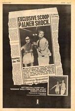Robert Palmer Sneakin' Sally UK LP advert 1974