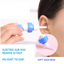 Safety Electric Cordless Vacuum Ear Cleaner Cleaning Wax Remover Painless Tools