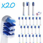 20 PC Electric tooth brush Heads Replacement for Braun Oral B Deep Sweep Trizone