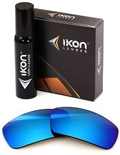 Polarized IKON Iridium Replacement Lenses For Oakley Pit bull Ice Blue Mirror