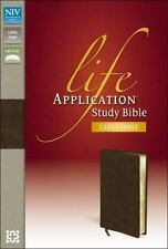 Life Application Study Bible-NIV-Large Print by Zondervan Publishing (English) B