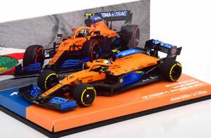 1:43 Minichamps McLaren MCL35 1ST Podium GP Austria Norris 2020