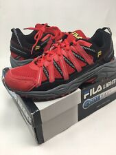 newest 2ab06 790e3 MEN S FILA SHADOW SPRINTER COOL MAX RUNNING SHOES  red   black, size 8.5
