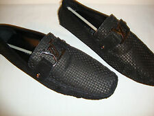 Louis Vuitton Genuine Leather RARE New Men Loafers EU-45,UK-11 10% off now