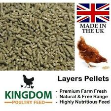 LAYERS PELLETS 20KG CHICKEN POULTRY HEN DUCK GEESE LAYING FOOD FEED FARM FRESH